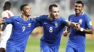 Seleção brasileira lidera atualmente as eliminatórias