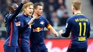 Forsberg Comemora Gol RB Leipzig Borussia Monchengladbach 19/02/2017