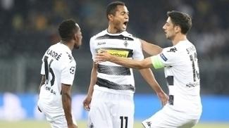 Raffael marcou doois gols na vitória na fase preliminar na Champions League