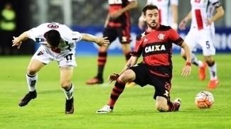 Mancuello Flamengo Palestino Copa Sul-Americana 21/09/2016