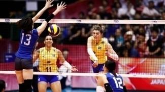 Brasil foi derrotada pelas anfitriãs neste domingo