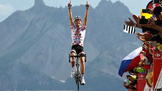Warren Barguil venceu a 18ª etapa do Tour de France