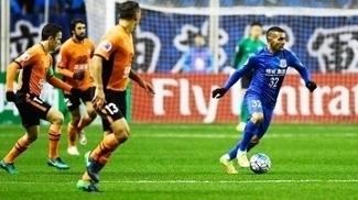 Tevez Shanghai Shenhua Brisbane Roar AFC Champions 08/02/2017