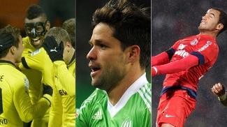 Felipe Santana, Diego ou Lucas: quem foi o melhor brasileiro no último fim de semana?