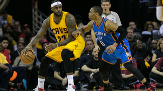 LeBron James x Russell Westbrook