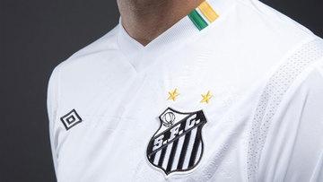 Santos consegue melhora em contrato, e Umbro assume uniformes da equipe em março