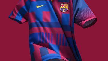 Barcelona oficializa a 'camisa mais polêmica de todos os tempos'