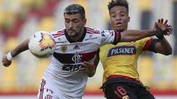 Não sei se orçamento torna obrigação Flamengo eliminar Barcelona, tenho certeza que o Transfermarkt não sabe nada sobre Libertadores