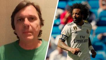 Fora da Copa América, Marcelo, do Real Madrid, dá um bico na fake news