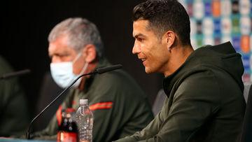 """Cristiano Ronaldo e a """"rejeição"""" à Coca-Cola"""
