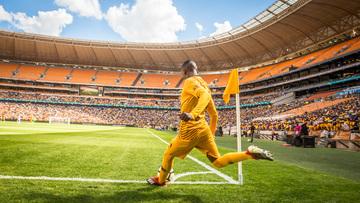 Falha do goleiro marca clássico sul-africano no palco da final da Copa de 2010