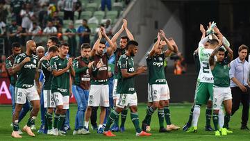 Palmeiras, rei no Brasileiro, cai em jogo mais exigente da Libertadores