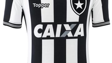 Botafogo apresenta novas camisas 1, 2 e 3 para a temporada