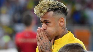 Neymar jogou como se tivesse um melão na cabeça