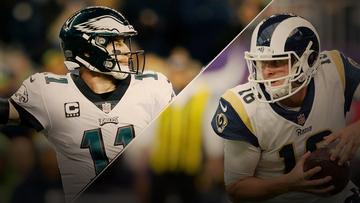 Eagles x Rams: Duelos para ficar de olho, narrativas e estatísticas que você precisa saber
