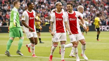 Vai superar time de Cruyff no Holandês? Início absurdo faz Ajax ter média de gols acima de temporada recorde