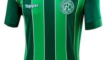 Com dois tons de verde, Guarani capricha em nova camisa 3 para 2018