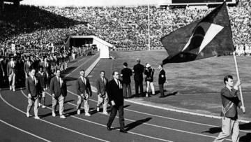 18º JOGOS OLÍMPICOS - 1964 - TOKIO/JAPÃO - INDICAÇÃO PARA PORTA BANDEIRA (1ª PARTE)