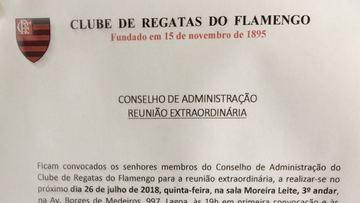 Flamengo discute empréstimo de R$ 20 milhões nesta quinta