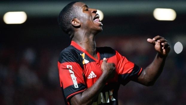 Vinicius Júnior é promessa da base do Flamengo