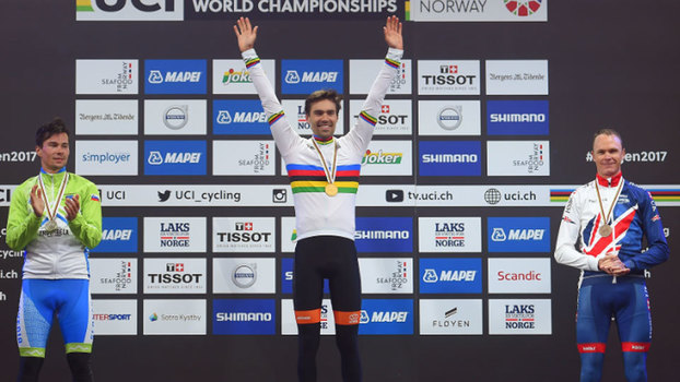 Oliveira a sete segundos do pódio nos Mundiais de Contrarrelógio — Ciclismo