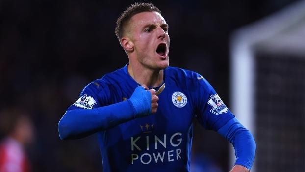 Atacante do Leicester é o artilheiro do Campeonato Inglês 8a57b38009361