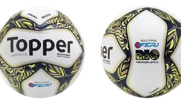 Fornecedora de material esportiva divulgou a bola da final do Carioca