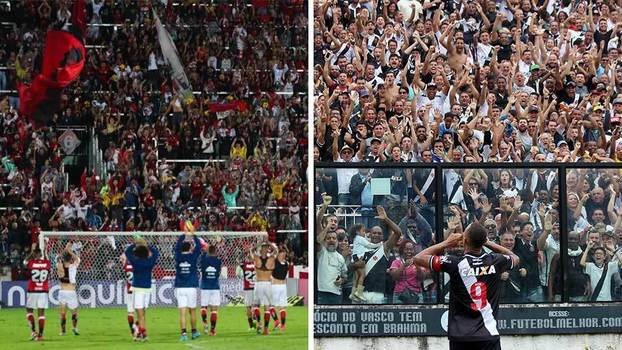 30b9297e65 Muito aproxima caldeirões de Vasco e Flamengo mas preço dos ingressos os  separa
