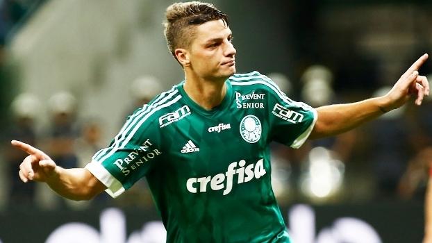 Andrei Girotto Comemora Gol Palmeiras Internacional
