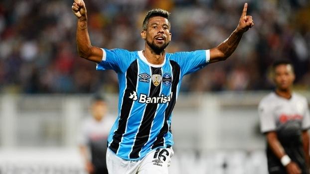 Leo Moura Comemora Gol Gremio Zamora Libertadores 09 03 2017 a6fdeed68d05d