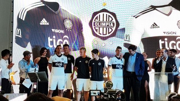 130c2f6ce72 Olimpia Novas Camisas 2017 Adidas
