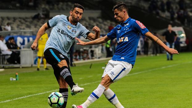 Cruzeiro e Grêmio empataram em 3 a 3 na oitava rodada do primeiro turno