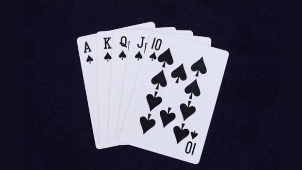 Royal Straight Flush: a mão mais forte (e rara) do poker