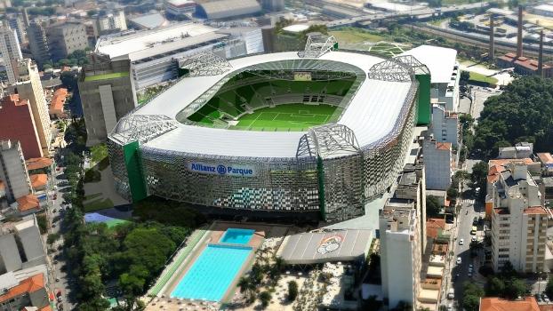 Allianz Parque é um dos estádios que receberá a campanha