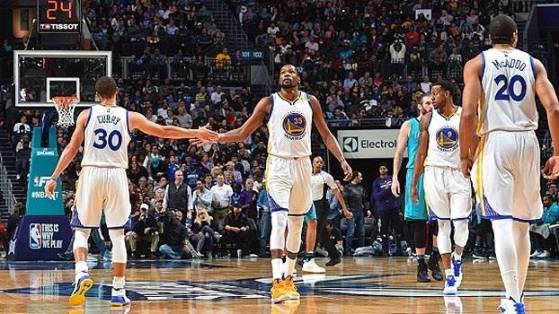 Warriors têm melhor campanha da NBA