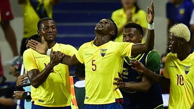 Arboleda balançou as redes pelo Equador contra Honduras em amistoso neste ano