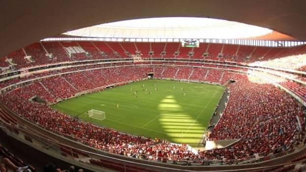 Mané Garrincha foi interditado após confusão em Flamengo x Palmeiras