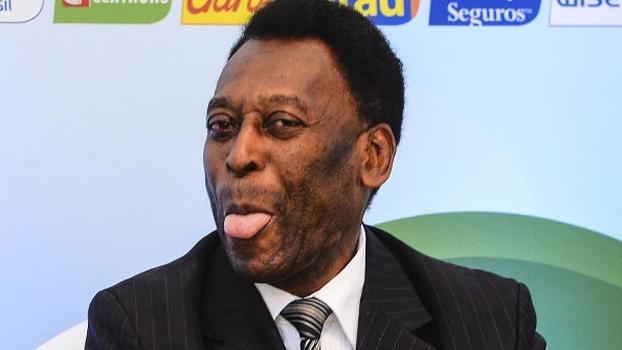 Sempre sorridente e brincalhão, Pelé contou que quase atuou pelo Real Madrid
