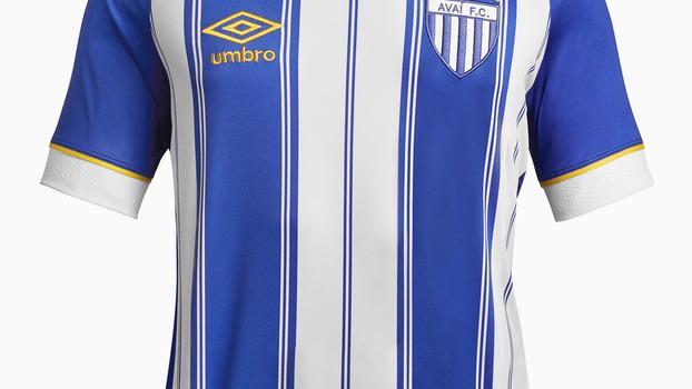 Nova camisa 1 do Avaí resgata tom original de azul e homenageia 95 anos do  clube  5a77ba4941e18