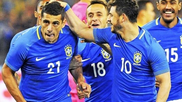 Diego Souza e Giuliano foram novamente chamados para a seleção brasileira