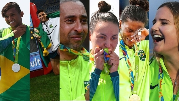 Isaquias, Thiago, Serginho, Poliana, Rafaela e Kahena: os melhores atletas de 2016 pelo COB