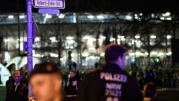 Estádio em Hannover foi evacuado no amistoso entre Alemanha e Holanda