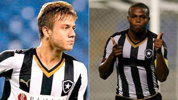 Luis Henrique e Vinicius Tanque: as joias do Botafogo nas categorias de base