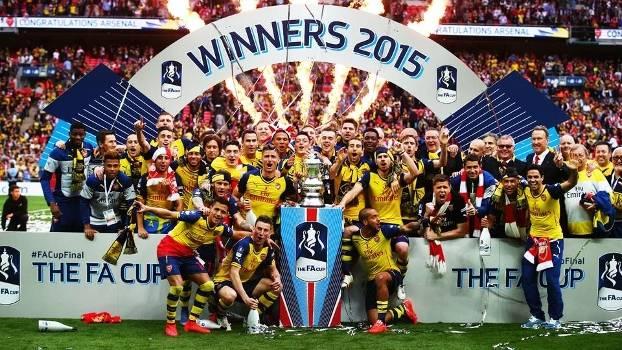 Arsenal Comemora Festa Trofeu FA Cup Copa da Inglaterra 30/05/2015