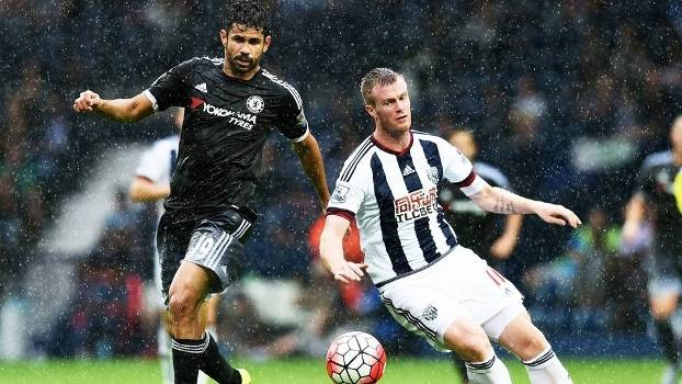 Diego Costa Chelsea West Bromwich Campeonato Ingles 23/08/2015
