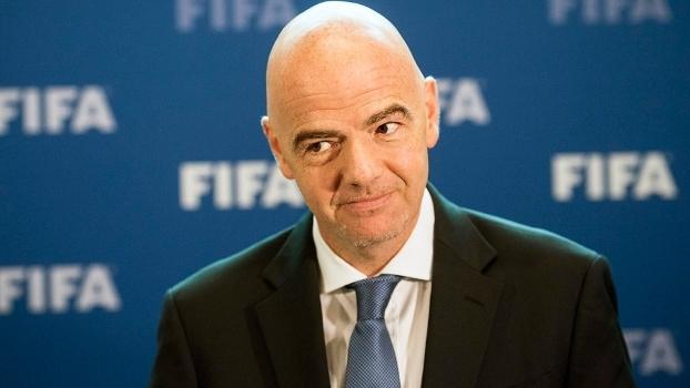Gianni Infantino comentou sobre o aumento de 16 seleções para a Copa de 2026