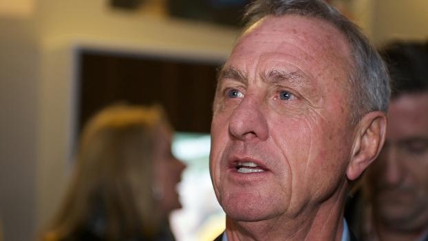 Johan Cruyff teve uma fracassda passagem pelo Chivas Guadalajara