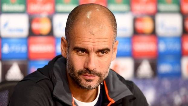 Champions League Guardiola coletiva Bayern Barcelona 2015