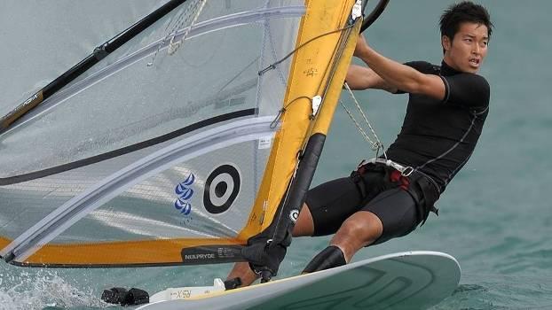 Wonwoo Cho, atleta de wind surf coreano