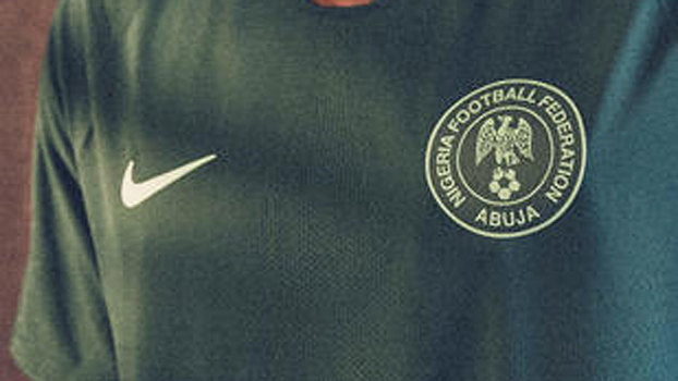 af6e1e20c253b Nigéria usará uma camisa toda verde escuro